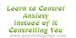Control Anxiety